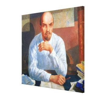 Retrato de Vladimir Ilyich Lenin, 1934 Lona Estirada Galerías