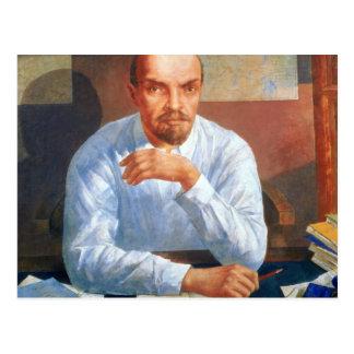 Retrato de Vladimir Ilyich Lenin, 1934 Tarjeta Postal