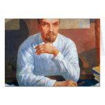 Retrato de Vladimir Ilyich Lenin, 1934 Tarjetas