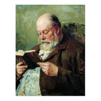 Retrato de Vladimir Makovsky- del académico Yanzhu Postales