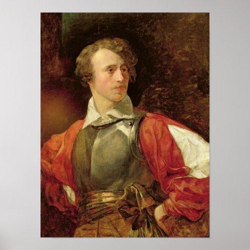 Retrato de Vladimir Samoylov como Hamlet Impresiones