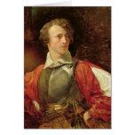 Retrato de Vladimir Samoylov como Hamlet Tarjeta De Felicitación