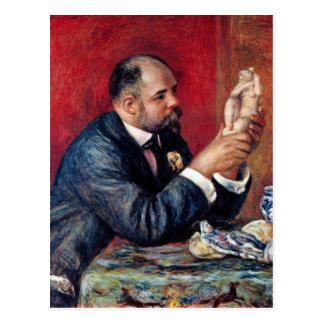 Retrato de Vollard de Pedro Renoir Postales