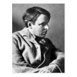 Retrato de W.B. Yeats Tarjetas Postales