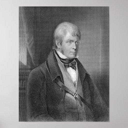 Retrato de Walter Scott Impresiones