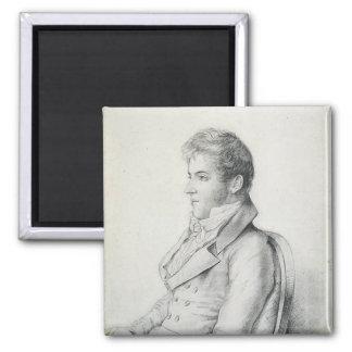 Retrato de Washington Irving Imán