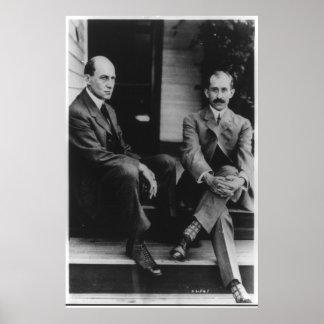 Retrato de Wilbur Wright y de Orville Wright Impresiones