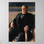 Retrato de WILLIAM HOWARD TAFT de Anders L. Zorn Impresiones