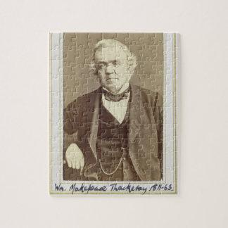 Retrato de William Makepeace Thackeray (1811-63) Rompecabeza