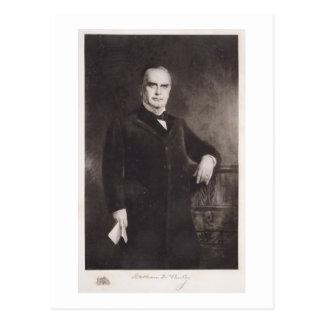 Retrato de William McKinley (litho) Postales