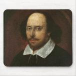 Retrato de William Shakespeare c.1610 Alfombrilla De Ratones