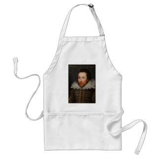 Retrato de William Shakespeare Cobbe circa 1610 Delantal