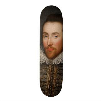 Retrato de William Shakespeare Cobbe circa 1610 Patineta Personalizada