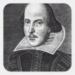Retrato de William Shakespeare Colcomanias Cuadradases