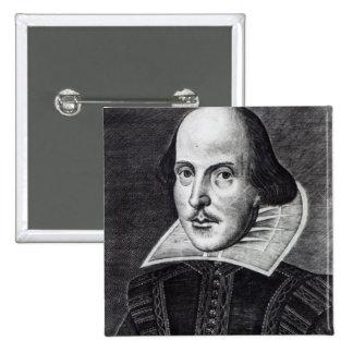 Retrato de William Shakespeare Pins