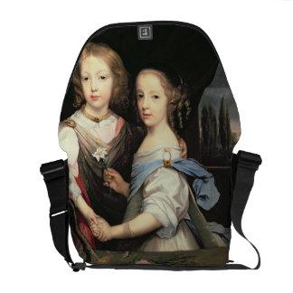 Retrato de Winston y de Arabella (1648-1730) Churc Bolsas De Mensajeria