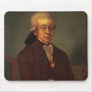 Retrato de Wolfgang Amadeus Mozart 2 Alfombrilla De Raton