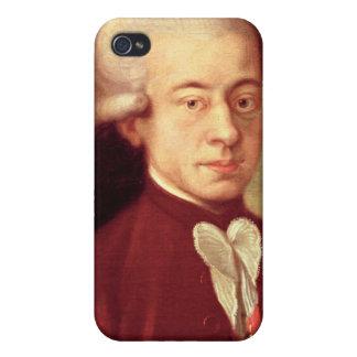 Retrato de Wolfgang Amadeus Mozart después de 1770 iPhone 4 Funda