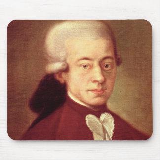 Retrato de Wolfgang Amadeus Mozart después de 1770 Tapete De Ratones