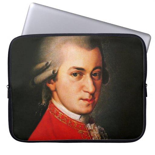 Retrato de Wolfgang Amadeus Mozart Manga Portátil