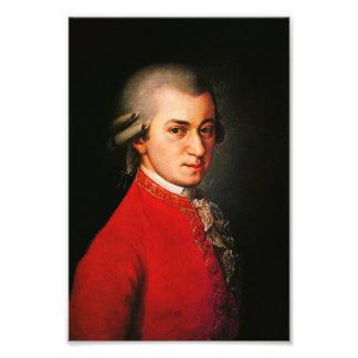 Retrato de Wolfgang Amadeus Mozart Cojinete