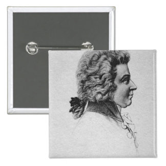 Retrato de Wolfgang Amadeus Mozart Pin