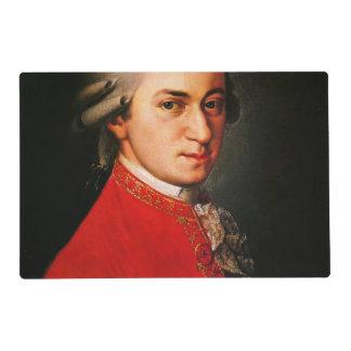 Retrato de Wolfgang Amadeus Mozart Salvamanteles