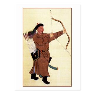 Retrato de Wu Fu Tarjeta Postal