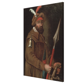 Retrato de Yermak Timofeyevich, 1700-50 Impresiones En Lona