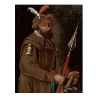 Retrato de Yermak Timofeyevich, 1700-50 Postal