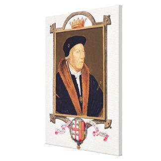Retrato del 2do conde de Henry Bourchier (d.1539)  Lona Estirada Galerias