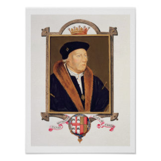 Retrato del 2do conde de Henry Bourchier (d.1539)  Póster