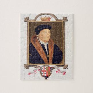 Retrato del 2do conde de Henry Bourchier (d.1539)  Puzzle Con Fotos