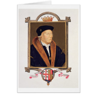 Retrato del 2do conde de Henry Bourchier (d.1539)  Tarjeta De Felicitación