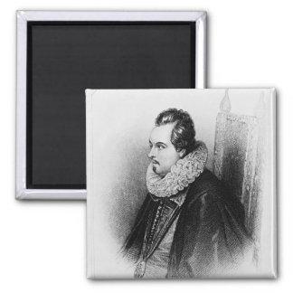 Retrato del 8vo conde de Charles Blount de Imán Cuadrado