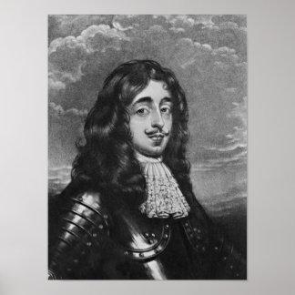 Retrato del 8vo conde de Derby Póster