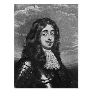 Retrato del 8vo conde de Derby Postal