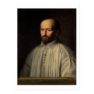 Retrato del abad del santo Cyran, c.1643 (aceite Postales