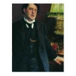 Retrato del abogado Oskar Grusenberg de Ilya Repin Postales