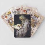 Retrato del aceite de Simon Peter Paul Rubens del  Baraja De Cartas
