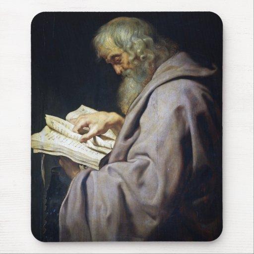 Retrato del aceite de Simon Peter Paul Rubens del  Alfombrilla De Ratones