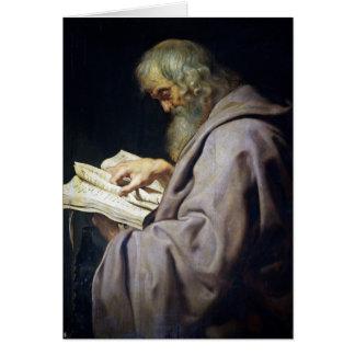 Retrato del aceite de Simon Peter Paul Rubens del Tarjeta Pequeña