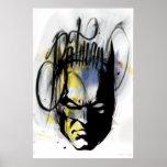 Retrato del aerógrafo de Batman Posters