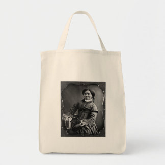 Retrato del afroamericano 1850 de la mujer bolsas