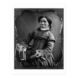 Retrato del ~ afroamericano 1850 de la mujer tarjetas postales