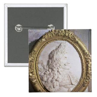 Retrato del alivio de Leopold I por el milhojas de Pin Cuadrada 5 Cm