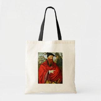 Retrato del Anabaptist David Joris por Scorel J Bolsa Tela Barata