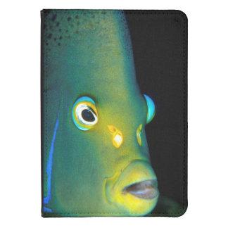 Retrato del Angelfish del semicírculo, bahía de Funda Para Kindle Touch