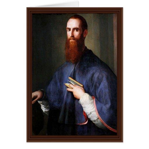 Retrato del ² Ardinghelli de Niccolo de Pontormo J Felicitacion