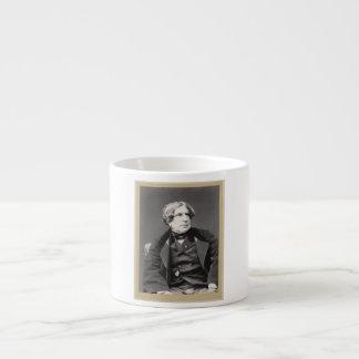 Retrato del arquitecto francés Felix Duban 1860 Taza De Espresso